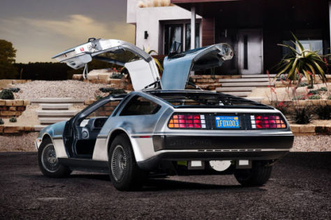DeLorean DMC-12 Elektroversion