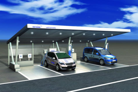 TÜV Nord Solartankstelle E-Station