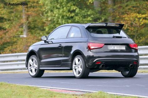Erlkönig Audi RS1