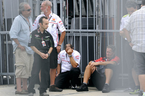Marco Simoncelli stirbt bei Unfall in Malaysia
