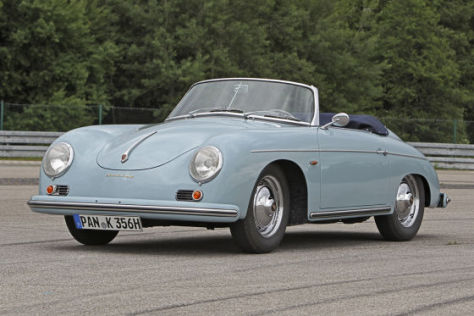 sportler der 50er porsche 356 a cabrio. Black Bedroom Furniture Sets. Home Design Ideas