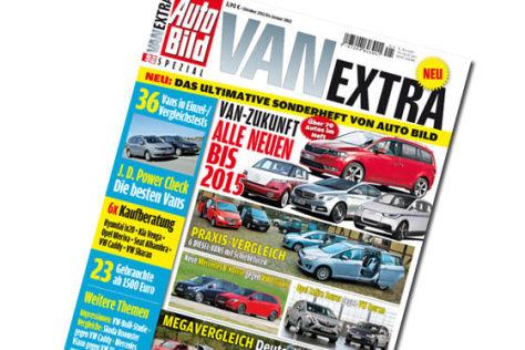Vorschau AUTO BILD Spezial - Van Extra