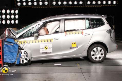 Euro NCAP Crashtest Oktober 2011