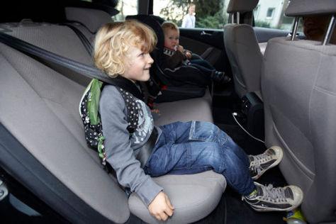 ADAC: Viele Kinder zu schlecht gesichert