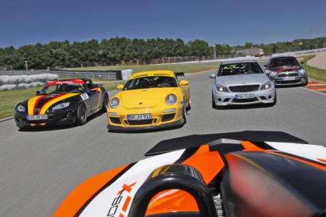 9ff/Mazda/Hirsch/KTM/Schnitzer: Vergleich