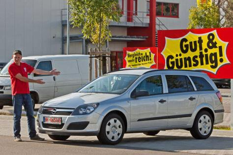 Opel Astra Caravan im Gebrauchtwagentest