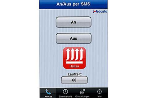 Standheizung mit iPhone starten