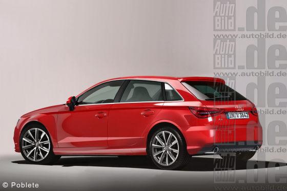 Audi A3 Cabrio Illustration