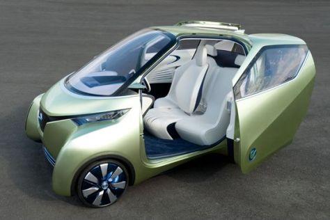 Studie: Nissan PIVO 3 auf der Tokyo Motor Show