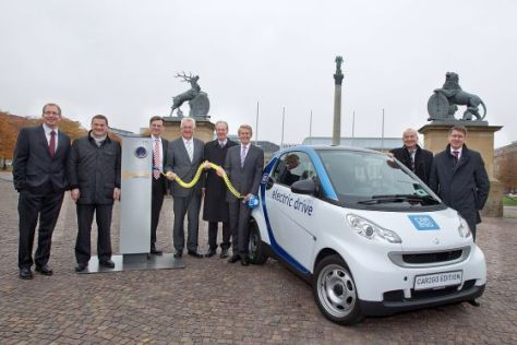 Projekt car2go in Stuttgart
