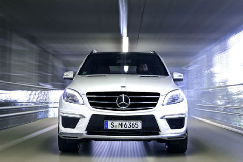 Mercedes ML 63 AMG