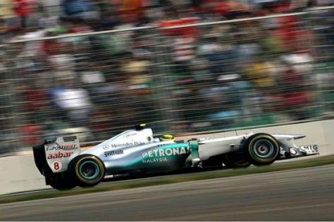 Nico Rosberg zeigt sich mit seinem Qualifying in Indien ganz zufrieden