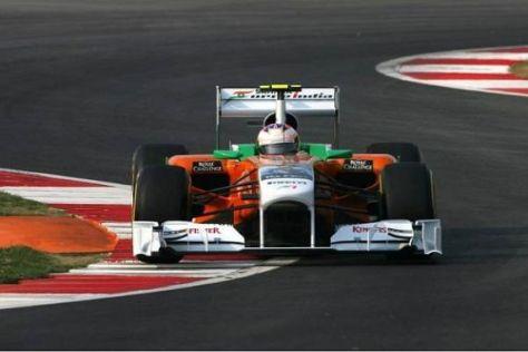 Auch Paul di Resta wird wohl am Sonntag lange Zeit auf weichen Reifen bleiben