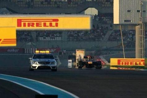Sebastian Vettels Rennen war heute schon nach einer Runde beendet