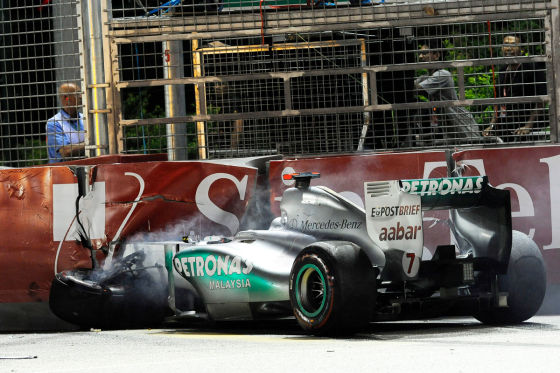 Formel 1-Unfälle