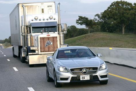 Mercedes SLK 55 AMG: Fahrbericht