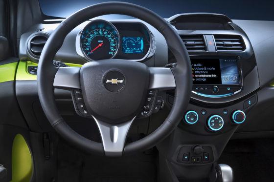 Interieur Chevrolet Spark 2013