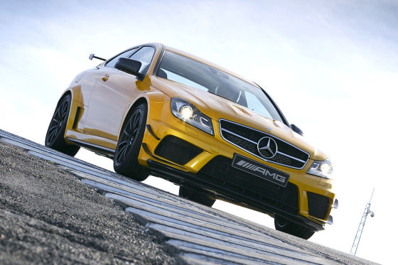 Mercedes C-Klasse C 63 AMG Coupé Black Series