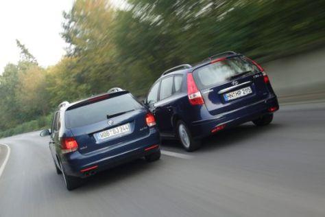 Hyundai i30cw VW Golf Variant