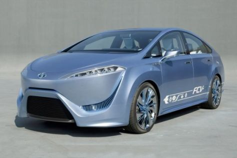 Toyota FCV-R Studie Brennstoffzellenantrieb Tokio 2011