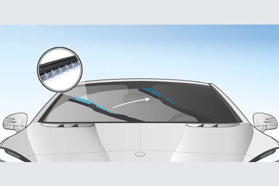 mercedes neues scheibenwischer system magic vision control. Black Bedroom Furniture Sets. Home Design Ideas