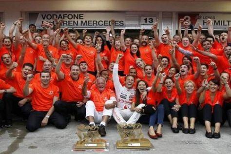 McLaren will 2012 nicht nur Einzelsiege, sondern den WM-Titel feiern