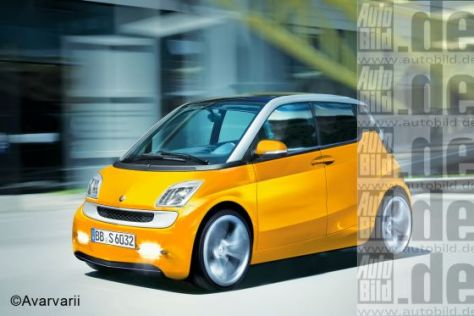 Smart forfour (Illustration)