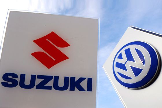 Logos Suzuki und VW