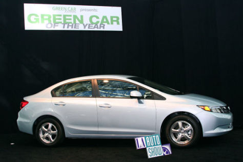 Honda Civic Green Car of the Year 2012