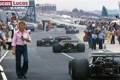 In den 1970ern war die Sicherheit in der Formel 1 noch nicht sehr weit