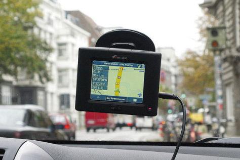 Radarwarner in einem mobilen Navigationsgerät