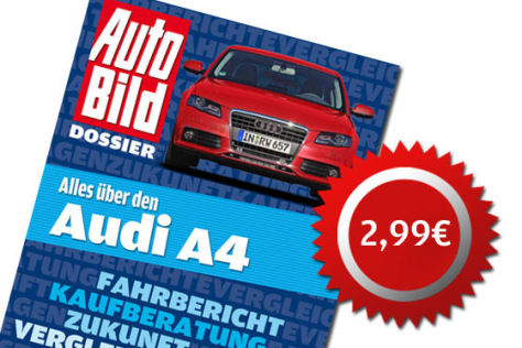 Audi A4 Dossier zum Download