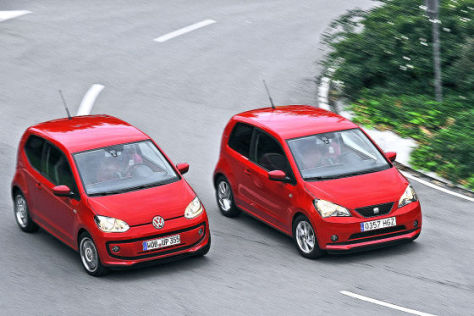VW Up, Seat Mii