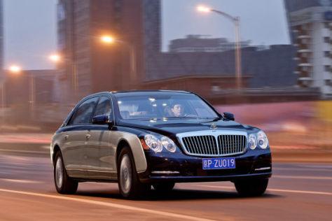 Daimler stellt Maybach ein