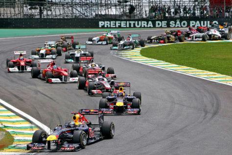 Formel 1 2011 GP Brasilien