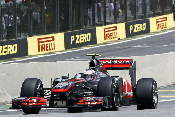 Jensons Button McLaren Mercedes