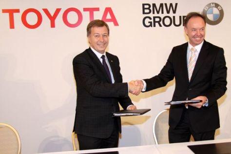 BMW und Toyota planen Zusammenarbeit