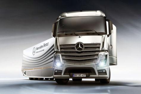 Mercedes-Benz Aero-Trailer Designstudie