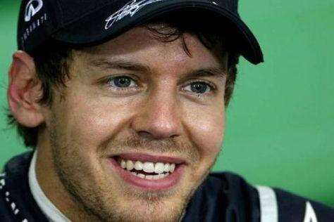 Sebastian Vettel geht 2012 als klarer Favorit in die neue Formel-1-Saison