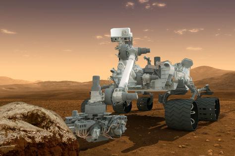 Curiosity: So viel kann das Mars-Fahrzeug