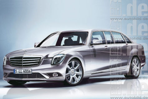 Illustration Mercedes S 600 Pullmann (2014)
