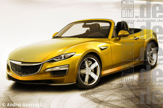 mazda mx 5 kommt der wankel zur ck. Black Bedroom Furniture Sets. Home Design Ideas