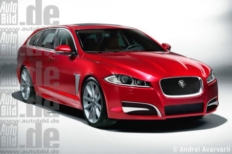 Jaguar XF Sportbrake Illustration