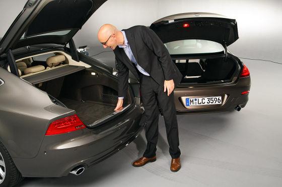 Audi A7 BMW 6er Gran Coupé