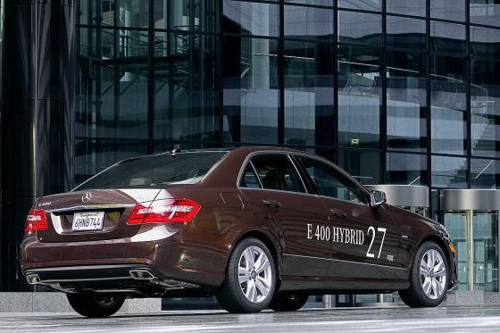Mercedes E-Klasse E 400 Hybrid