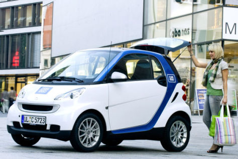 Smart Car2go in Ulm