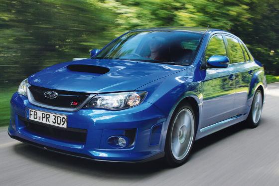 Subaru WRX STi tS