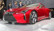 Lexus LC 500 (Detroit 2016): Vorstellung
