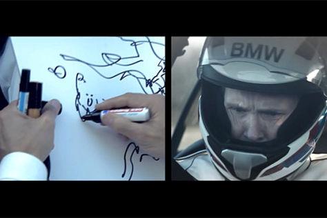 Zeichnen im BMW M5