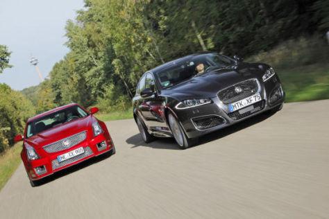 Cadillac CTS-V/Jaguar XFR: Test